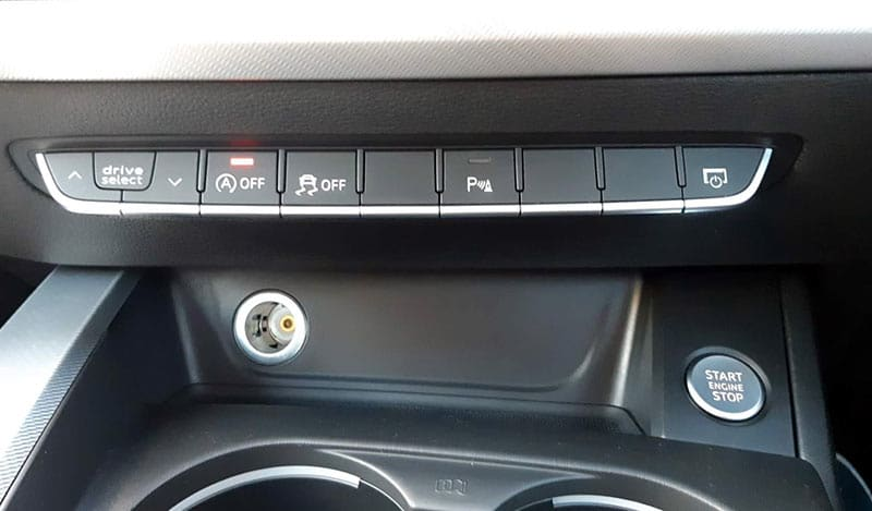 AUDI A5 Start Stop Feature