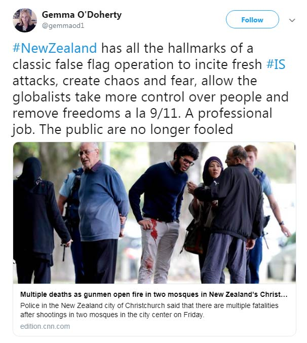 New Zealand Shooting - Gemma O'Doherty
