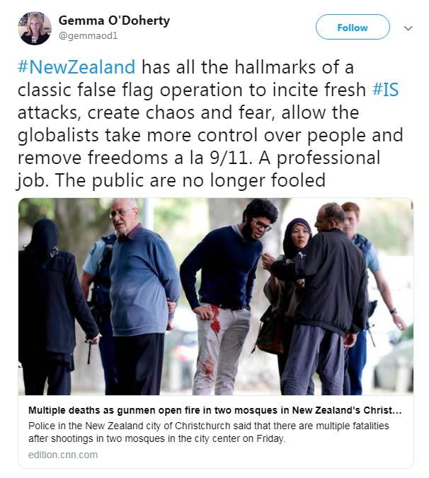 New Zealand Shooting - Gemma O'Doherty