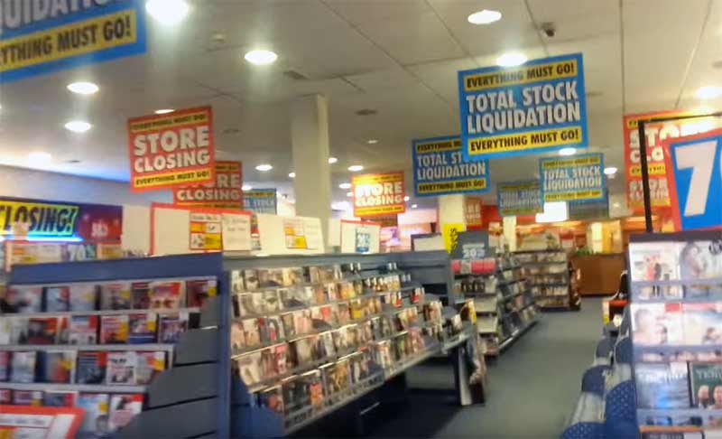 Xtra-vision store in Limavady