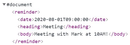 parse xml javascript